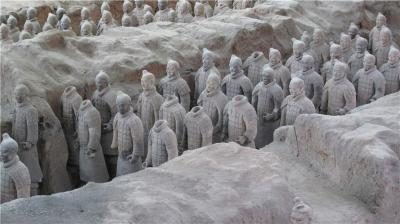 Pits of Terracotta Army