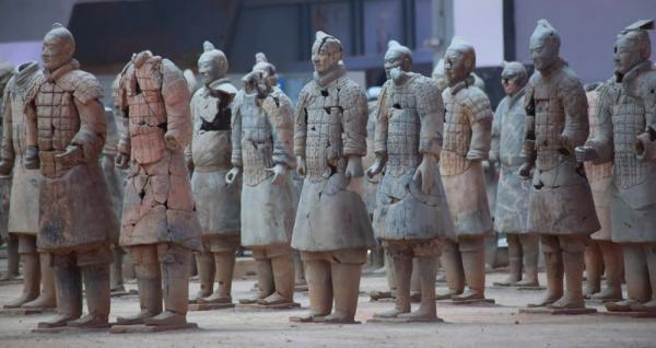 Visit the Terra-cotta Warriors in Xian