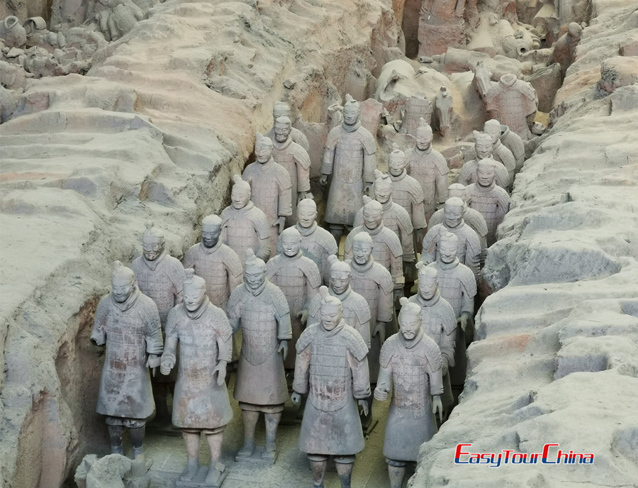 Face to face with Terra Cotta Army