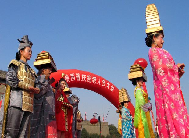 The Double Ninth Festival Activity