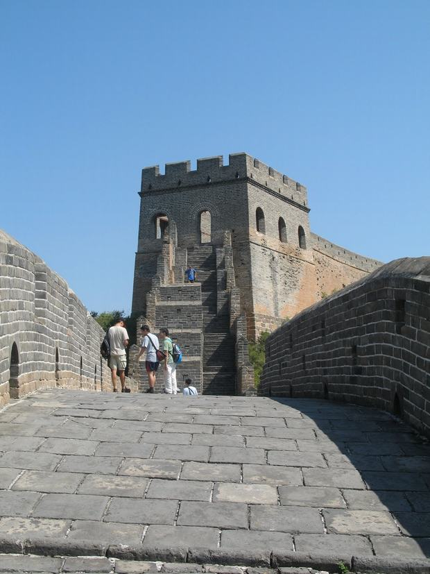 The First Beacon Tower of Great Wall Scene