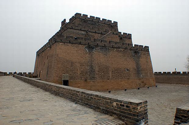 The First Beacon Tower of Great Wall View