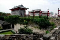 The Gate of China Panoramic View