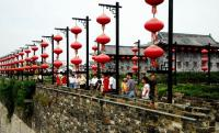 The Gate of China Red Lanterns