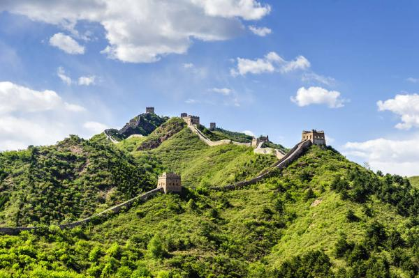 The Great Wall in Spring