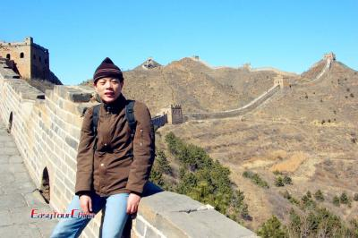 Visiting Beijing Great Wall