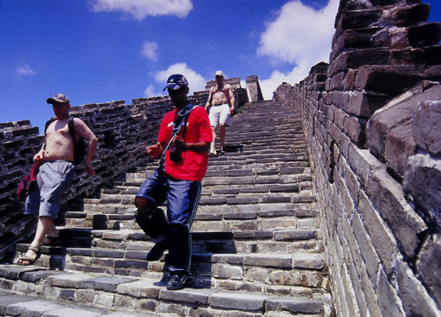 Great Wall steps