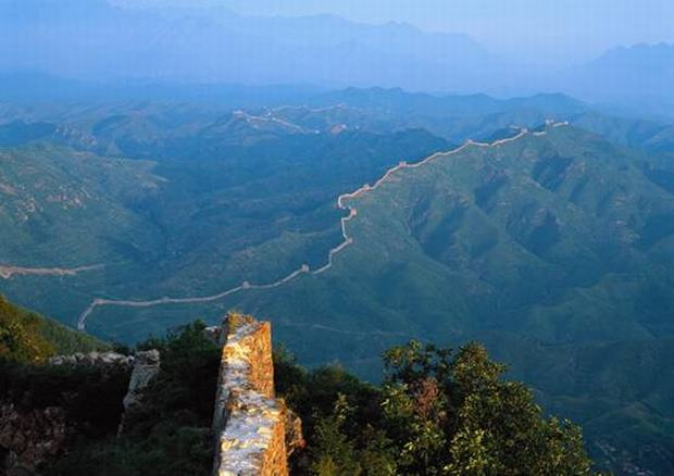 Great Wall along Ridges