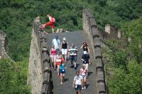 Great Wall Foreigner Visit