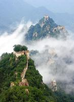 Great Wall on Cliff