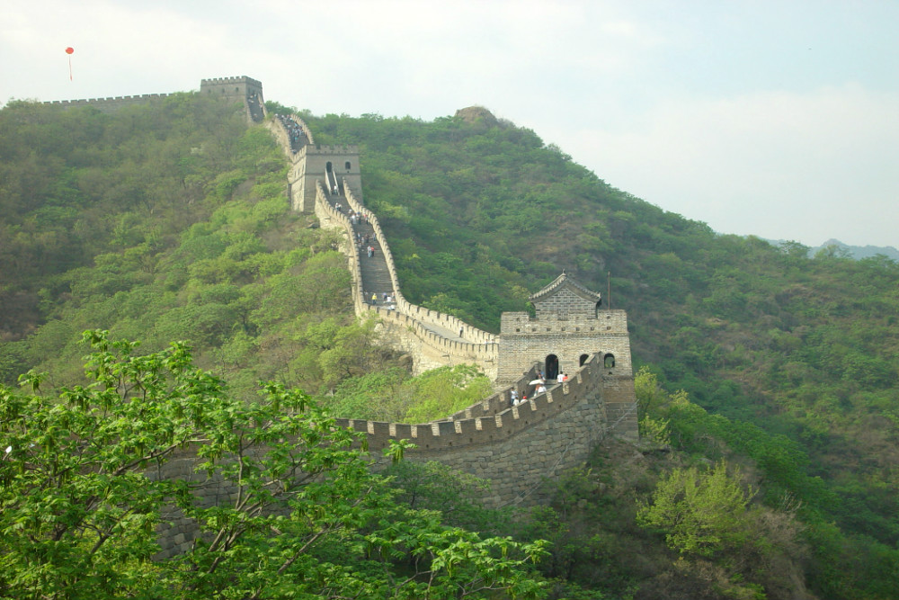 Wonder of the World - The Great Wall in Beijing