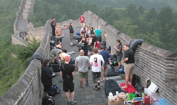 Great Wall Camping