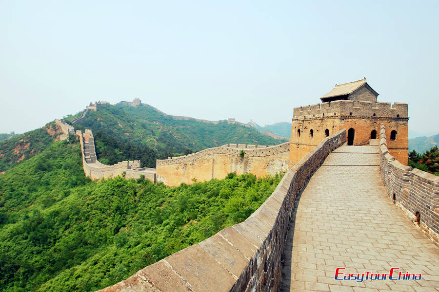 China holiday with Great Wall