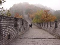 great wall beijing autumn