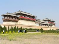The Mausoleum of Emperor Jingdi Panorama