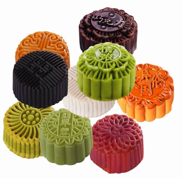 Mid-autumn Festival Ice Rind Mooncakes
