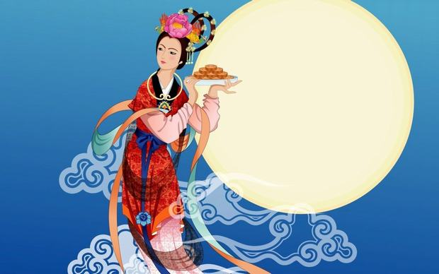 The Mid-autumn Festival Chang'e