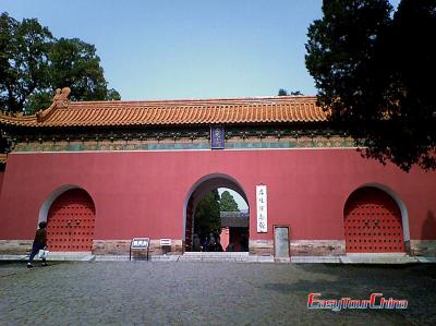 Photo of Ming Tomb in Nanjing