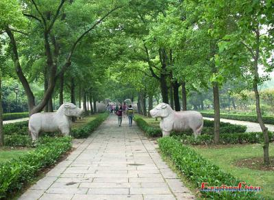 Travel Photos of Ming Tomb in Nanjing