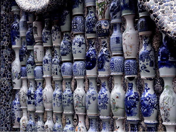 The Porcelain House Wall of China