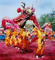 Spring Festival Dragon Dance