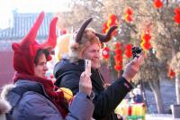 The Spring Festival Foreign Visitors