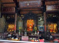 Thien Hau Temple shrine