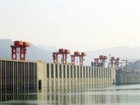 A Corner of Three Gorges Dam