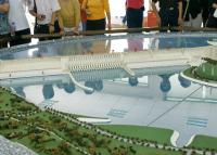 Model of the Three Gorges Dam