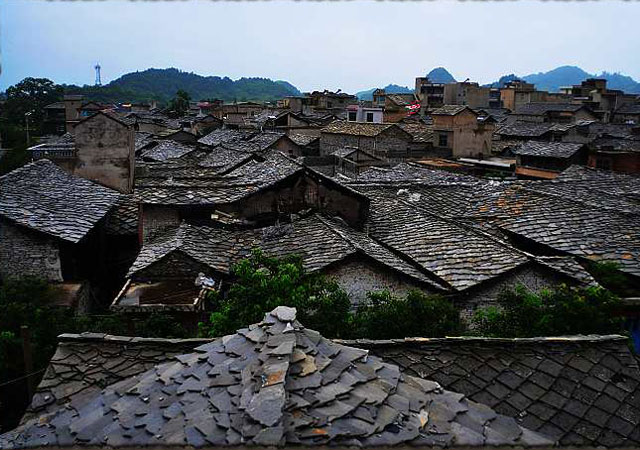 Roofscape of Tunpu