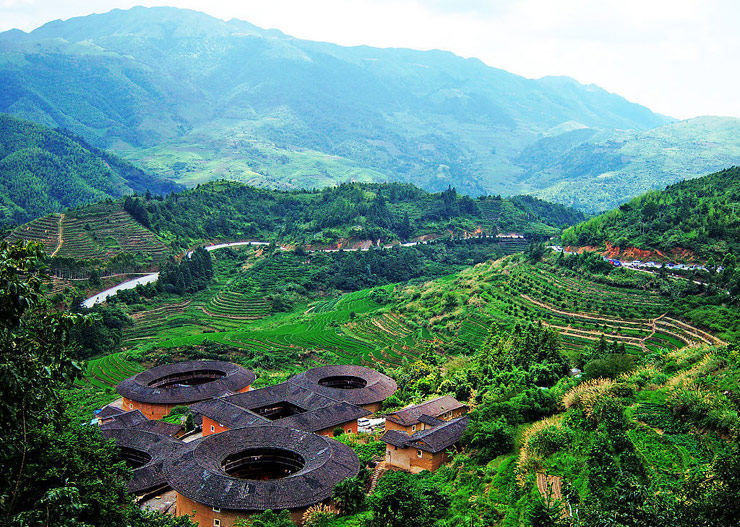 Tianluokeng Earth Towers (Tulou) of Hakka