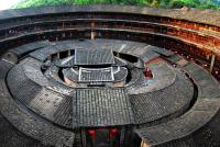The roof of Tulou Building