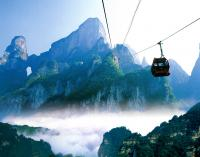 Cable Car on Tianmen Mountain