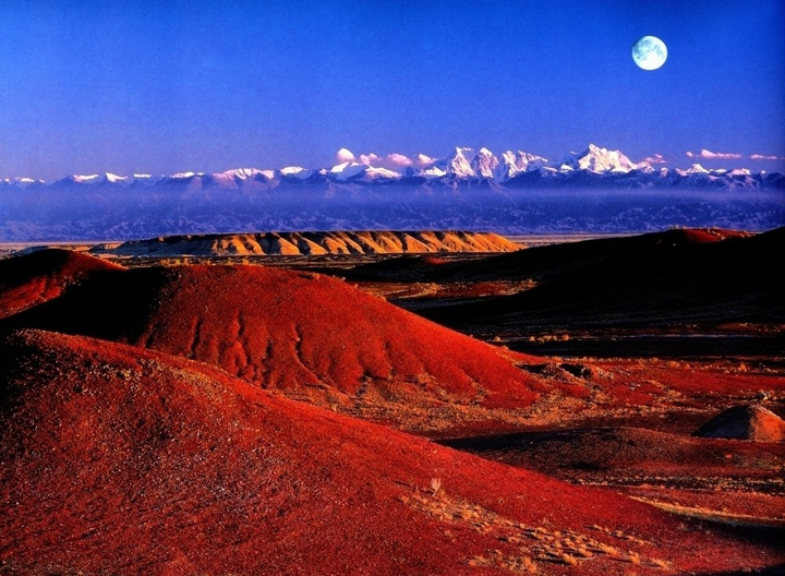 Sun Rise Scenery Tianshan Mountain Pictures Images Of