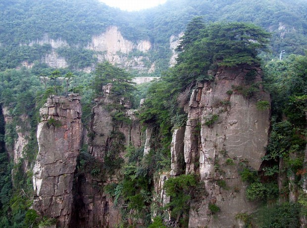 Snap A Picture of Tianzi Mountain