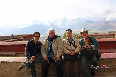 Brazil Group Traveled in Lhasa Tibet