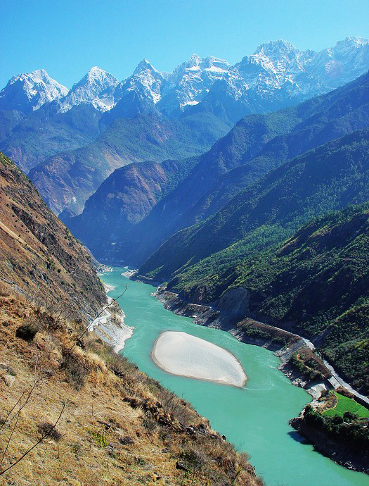 Tiger Leaping Gorge Scene