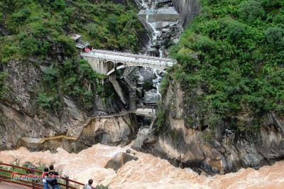 Bridge at Tiger Leaping Gorge