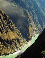 Tiger Leaping Gorge Abrupt Canyon