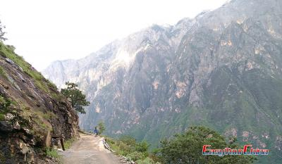 Hiking in Tiger Leaping Gorge