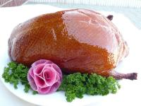 pecking roast duck