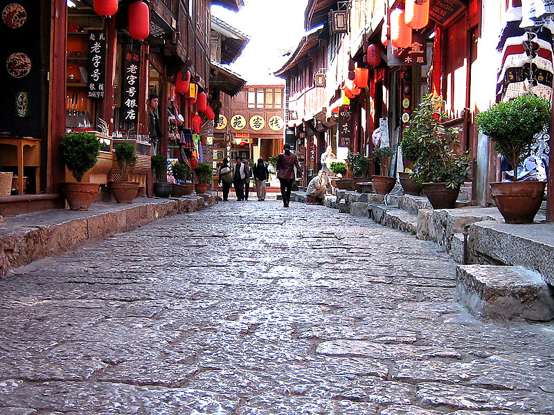 Old Street in Lijiang Old Town