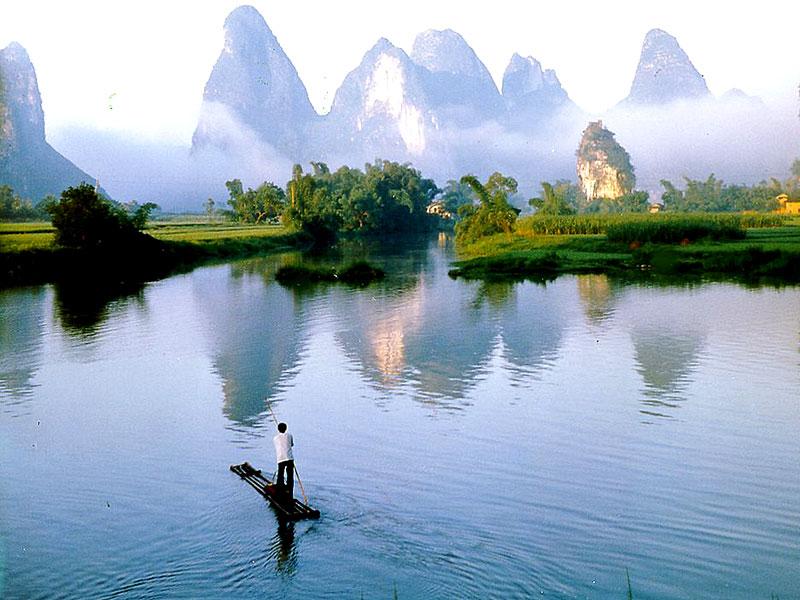 Li River Cruise In Guilin Guiliin Honeymoon Tours China