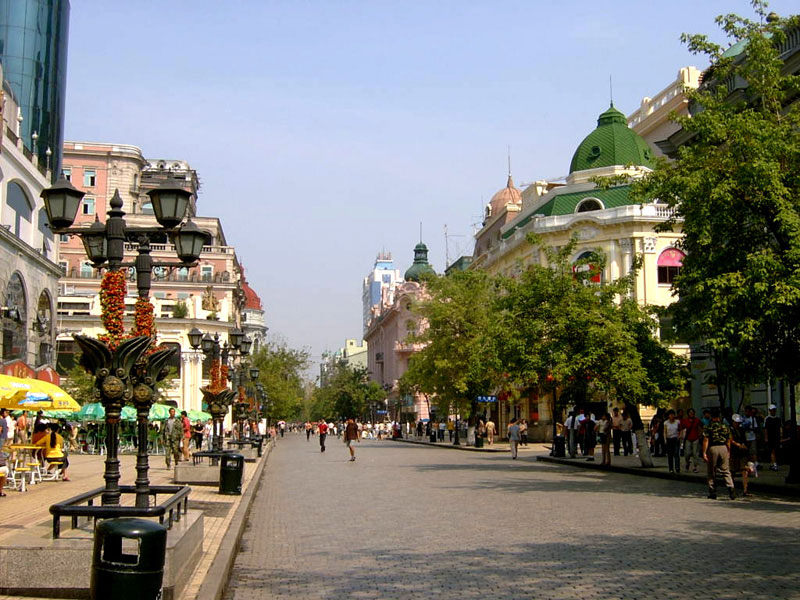 Central Avenue in Harbin