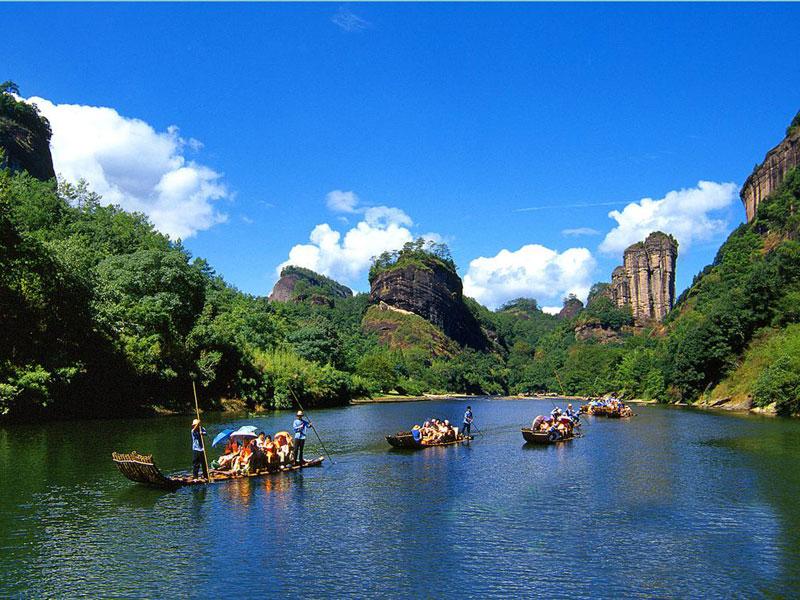 Mt Wuyi Fujian Fujian Wuyishan Mountain Top Mountains In