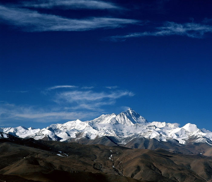 Mt. Everest in Tibet