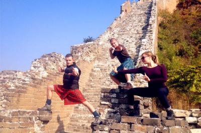 Kung Fu on the Great Wall