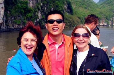 Enjoying Yangtze River Cruise