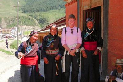 Meet local Tibetan people in Gansu