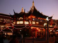 Town God Temple at Night